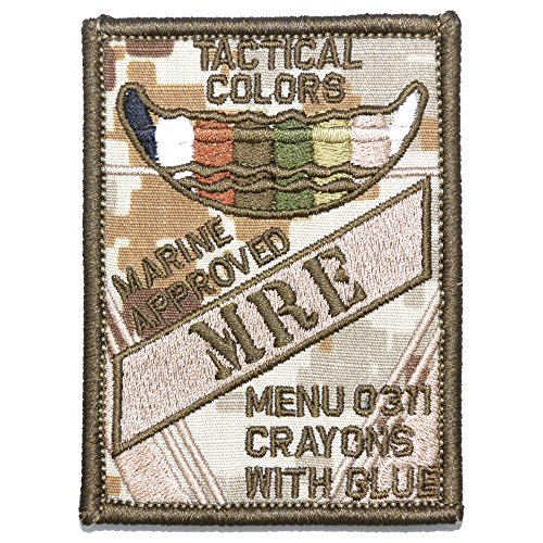 Tactical Color Crayons Approved MRE - Funny Patch