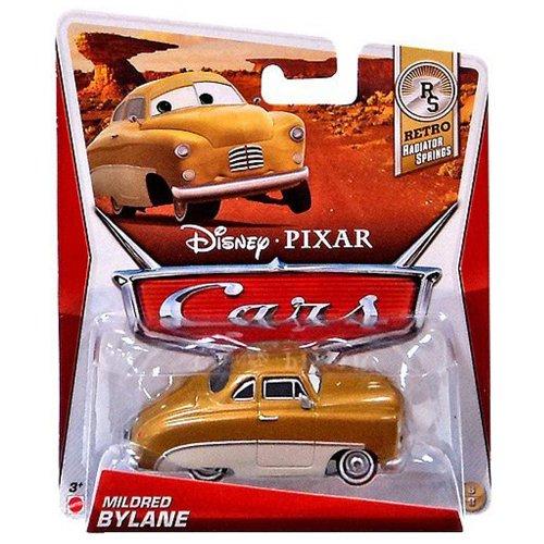 Disney / Pixar CARS MAINLINE 1:55 Die Cast Car Mildred Bylane [Retro Radiator Springs 8/8]