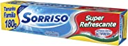 Creme Dental Sorriso Super Refrescante 180g