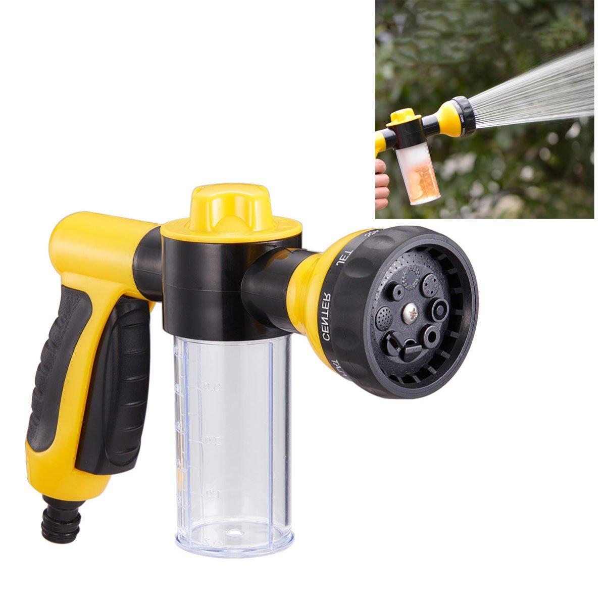 YeBon Multifunction Auto Car Foam Water Gun Car Washer Water Gun portable high Pressure Car Wash Water Gun Home Car Foam…