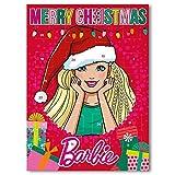 Barbie Chocolate Advent Calendar 75g - Whole Milk Chocolate
