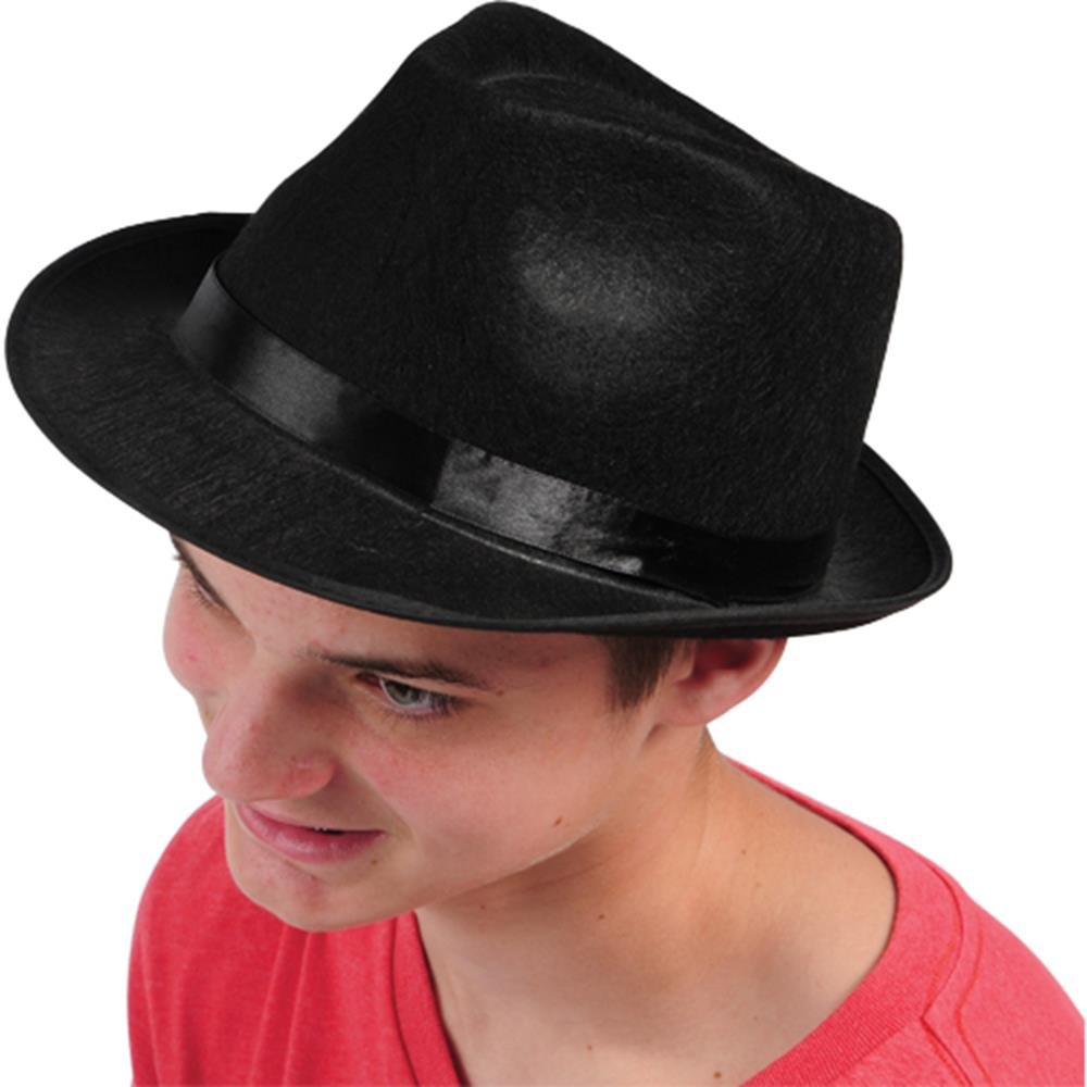 Black Toy H246 Fedora Hat U.S