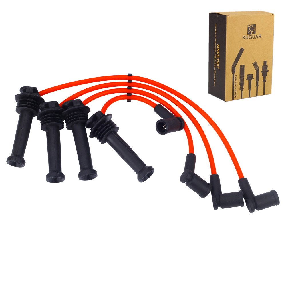 Spark Plug Wires Sets Ignition Cables Silicone High Performance for