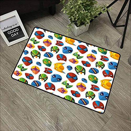Amazing Spider Man 2 Costumes Making - Linhomedecor Superhero Commercial Grade Entrance mat