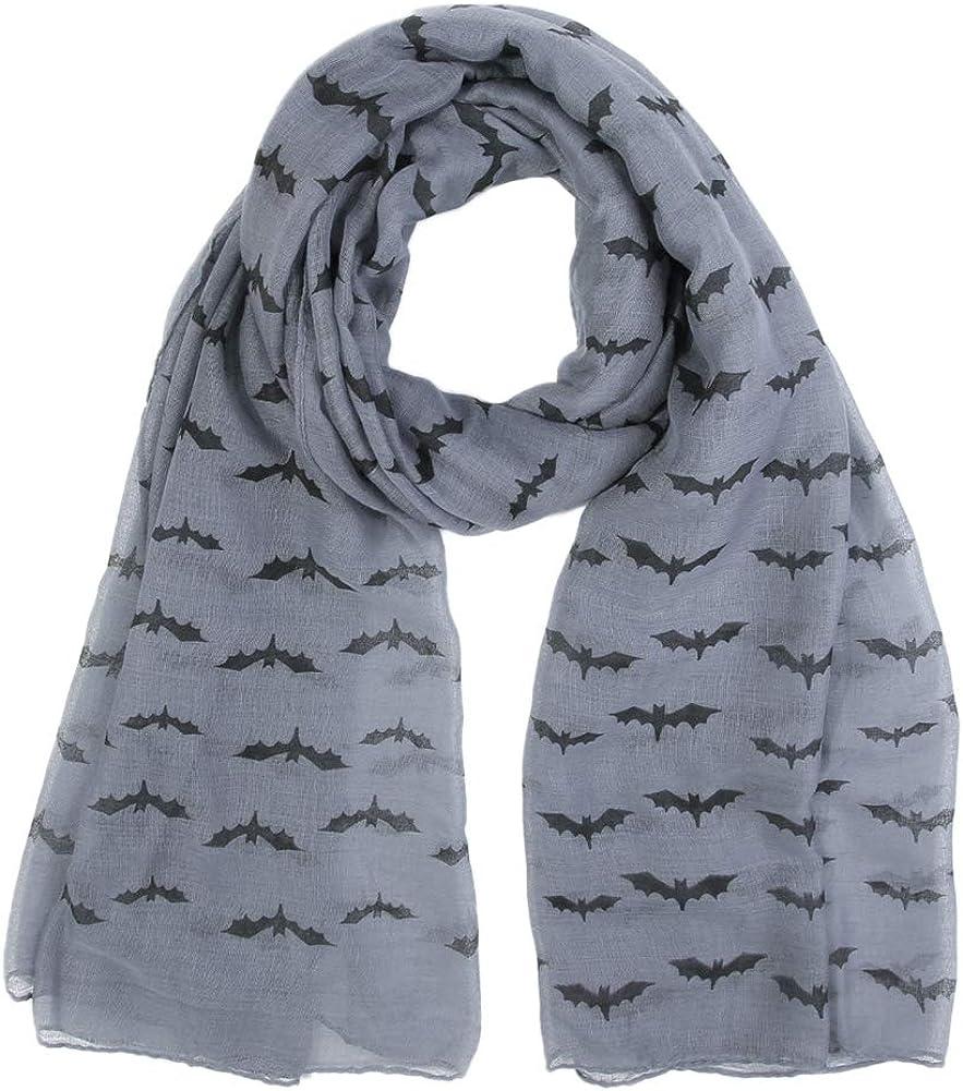 Ladies Summer Scarf Open Neckerchief Women/'s Stole Cloth Horse Unicorn Blue