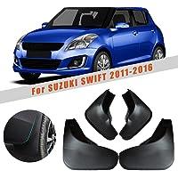 For Suzuki Swift 2011-2016 Car Mud Flaps Wheel Splash Guards Premium Heavy Duty Mudguards Rally Armor Fender ABS plastic