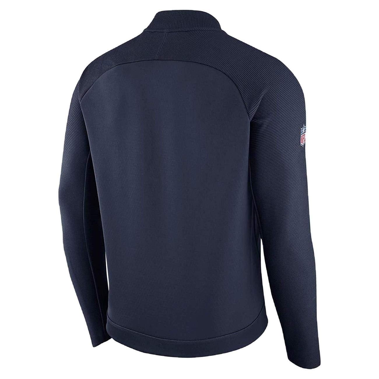 Amazon.com: Nike Denver Broncos Chaqueta de cremallera ...