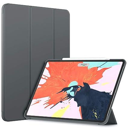 JETech Hülle für iPad Pro 12,9 Zoll (2018 Modell, 3.Generation), Veröffentlichung Kante zu Kante Liquid Retina Display, Kompa