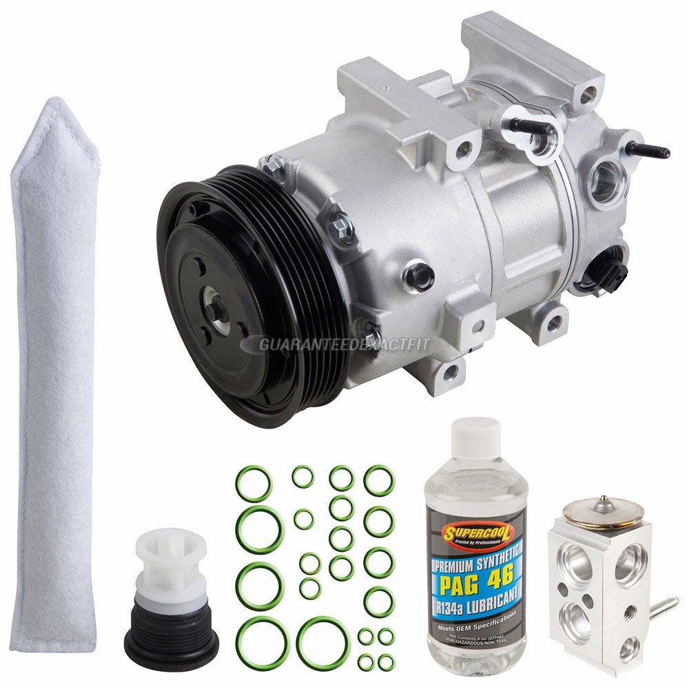 For Hyundai Tucson and Kia Sportage AC Compressor w//A//C Repair Kit BuyAutoParts 60-81182RK NEW