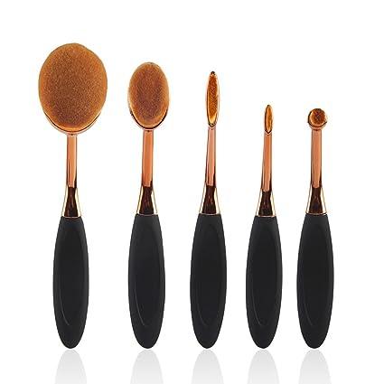 WEATLY Cepillo de Maquillaje de Alto Grado 5 Cepillos de Dientes Cepillo Cepillo multifunción (Color
