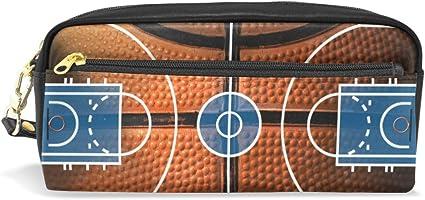 Estuche para lápices de fondo de canasta de baloncesto, bolsa para ...