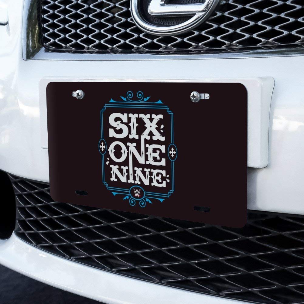 Graphics and More WWE Rey Mysterio Six One Nine Novelty Metal Vanity Tag License Plate