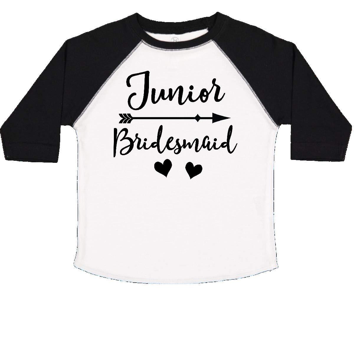 inktastic Junior Bridesmaid Wedding Bridal Party Gift Toddler T-Shirt