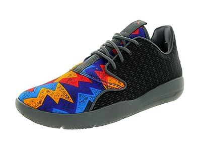 Nike Jordan Kids Jordan Eclipse BG Black Unvrsty Rd Drk Gry White Running 9395620521e