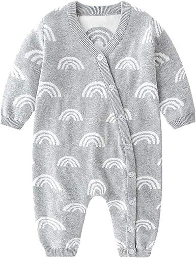 La Niña De Algodón Romper - Rainbow Pijamas Unisex Mono ...