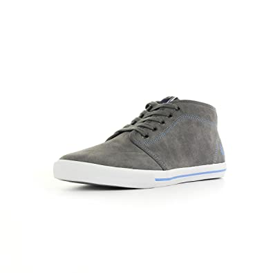 FRED PERRY B3174 168 STEEL FLETCHER SUEDE,41: Amazon.it