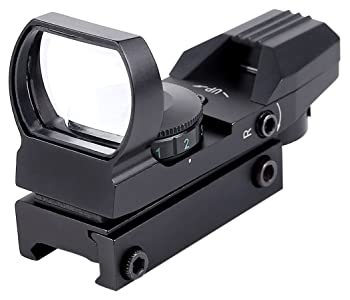 Ohuhu Red and Green Reflex Sight