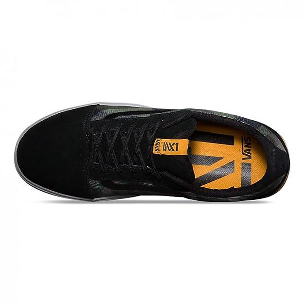 c991586c513bbb Vans LXVI Locus Skate Shoes ((Camo) Black Light Grey