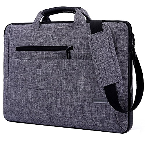 Brinch 15.6-Inch Multi-functional Suit Fabric Portable Laptop Sleeve Case Bag