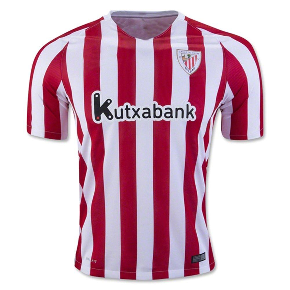 20162017Athletic Bilbao FC Gorka Iraizoz Markel–Susaeta casa calcio maglia in rosso CBUJSS