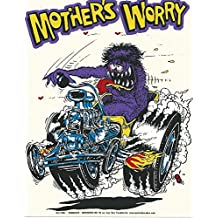 Mothers Worry Decal by Ed Roth