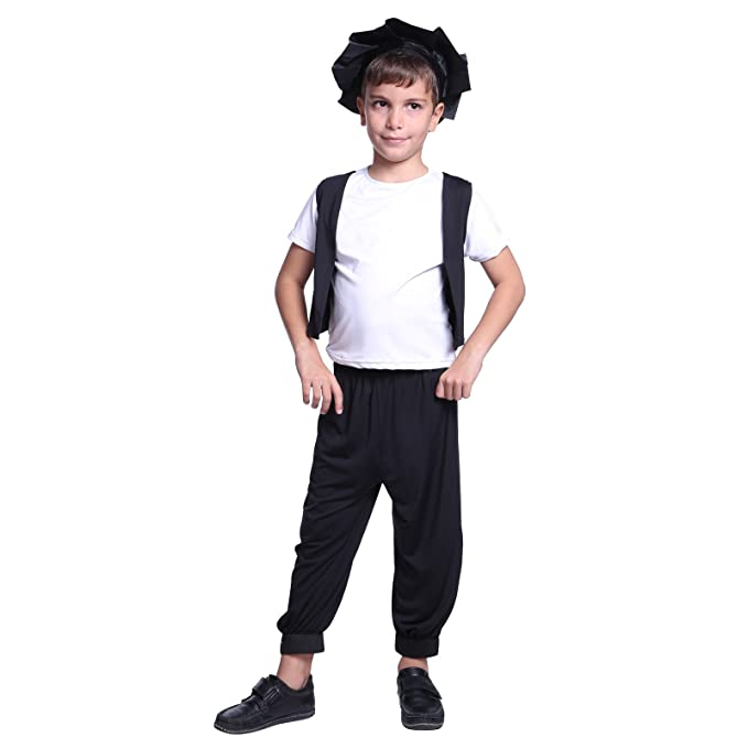 De niño patrones de costura para Tudor pobre Street disfraz infantil ...