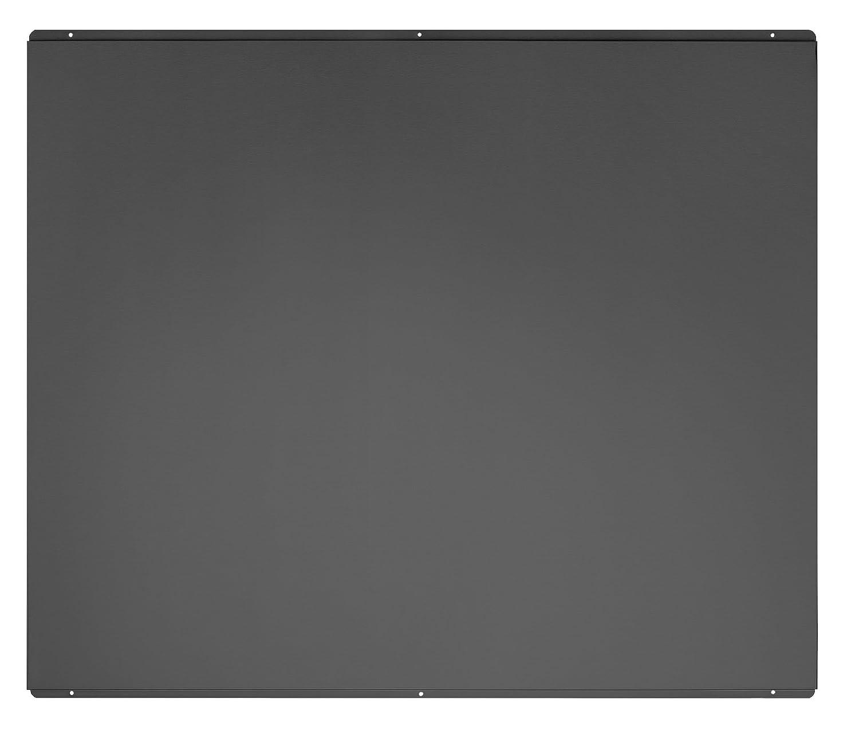 Universal Cookology Unbranded SB900BK Splashback to fit 90cm Flat Chimney Hood in Black