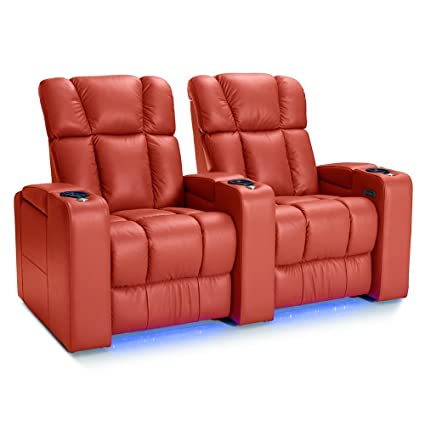 amazon com palliser collingwood leather home theater seating power