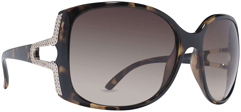Dot Dash Women's Dakoda Oval Sunglasses,Tortoise,54 mm
