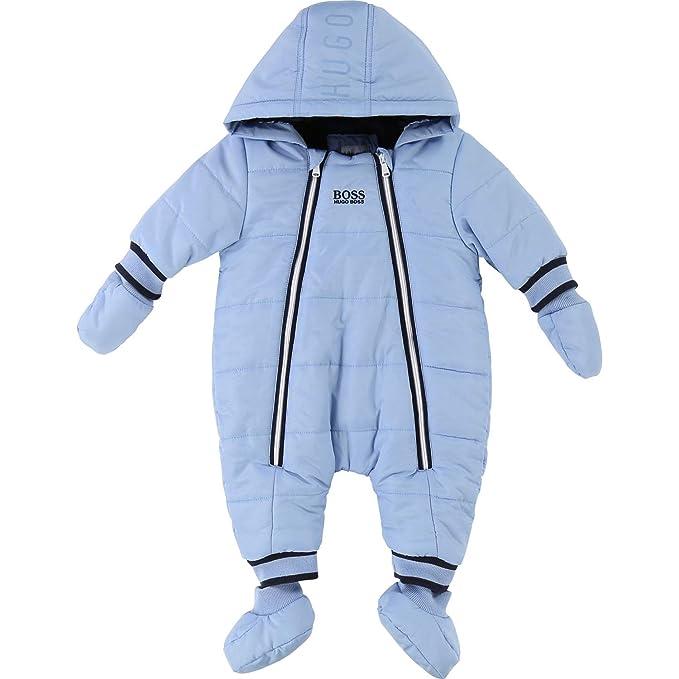 BOSS Hugo - Traje de Nieve para bebé (Forro de Peluche) Azul ...