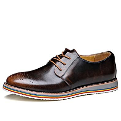 Chaussures En Cuir Homme Loisirs Business Chaussures habillées