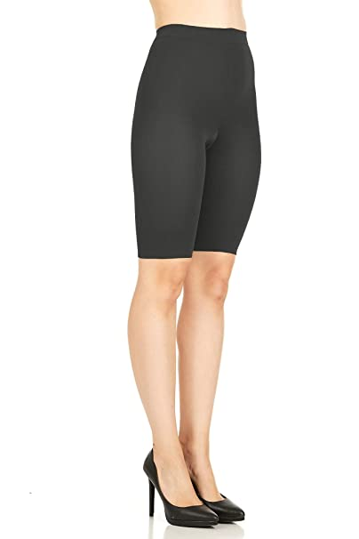 376aa18b47936 ASSETS Red Hot Label by SPANX Medium Control Mid-Thigh at Amazon Women s  Clothing store