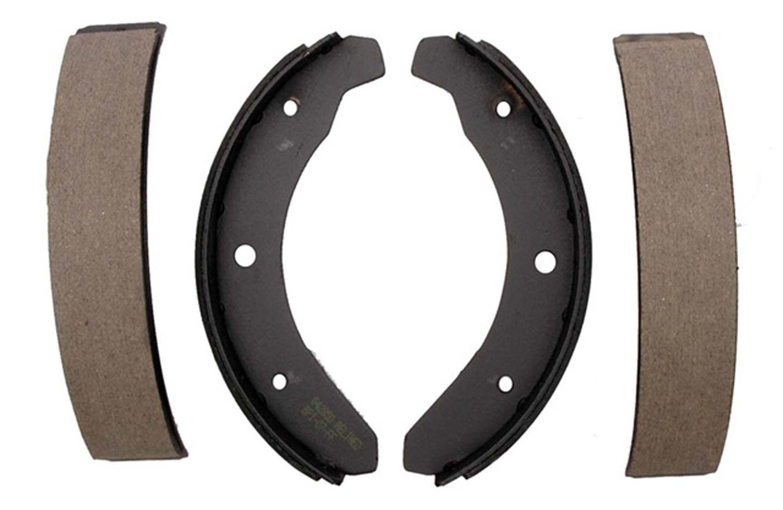 ACDelco 17269B Professional Bonded Front Drum Brake Shoe Set