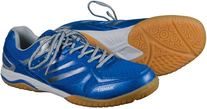 Tibhar Titan Ultra String - Zapatillas de Tenis de Mesa, Color Azul