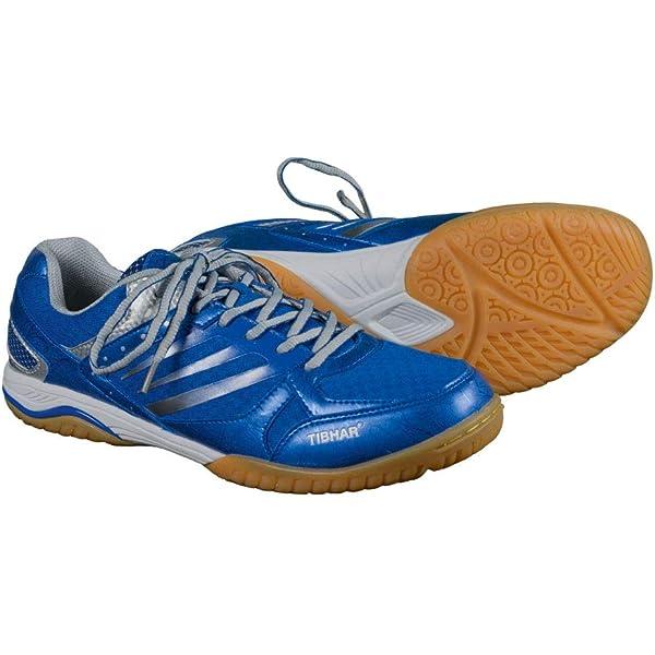 Zapatillas tenis de mesa | Tibhar Porgress Soft | Zapatillas Ping Pong | con suela antideslizante, muy ligeras, en dos colores: Amazon.es: Deportes y aire libre