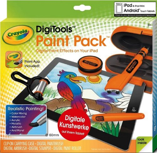 Crayola 95 1039 DigiTools Paint Pack