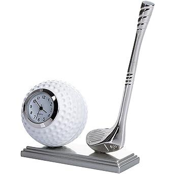 Reloj en miniatura, miniatura - - Reloj de golf, palos de ...