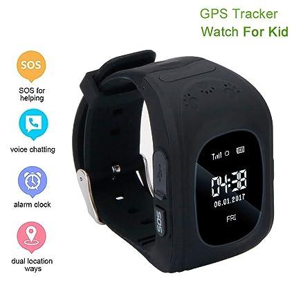 Amazon.com: Hufcor Kids GPS Smartwatch, Anti-Lost Smart ...