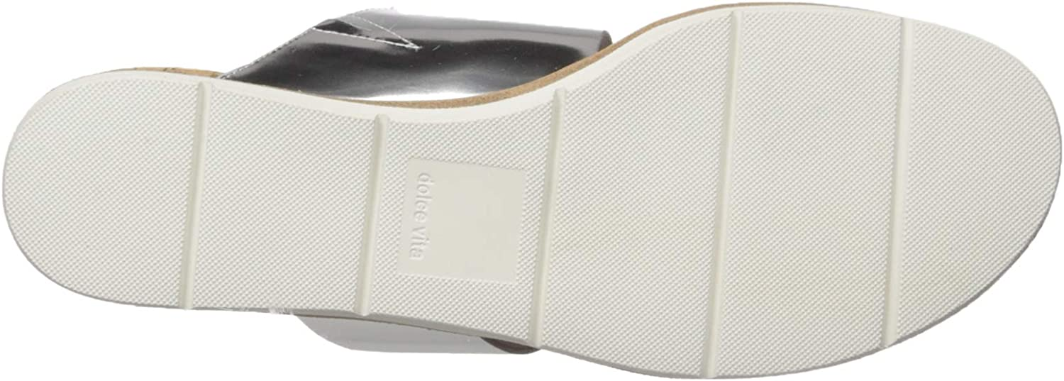 Dolce Vita Vala Sandales pour Femme Silver Leather