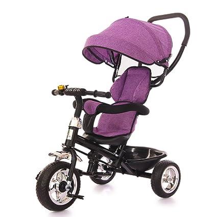 QXMEI Triciclo De Pedales para Niños de 1 A 3 Años De Edad, Bicicleta De