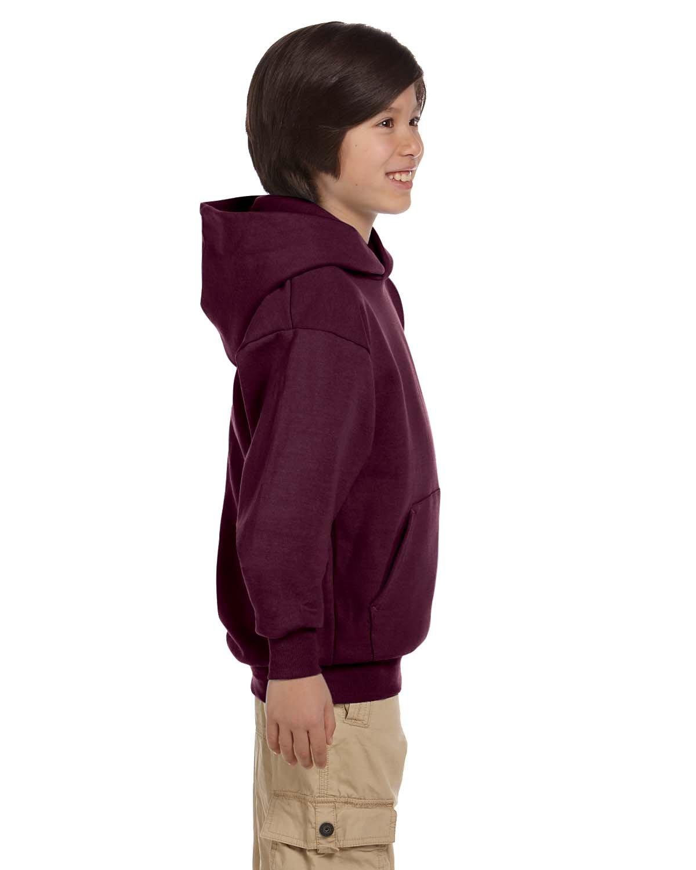 Hanes Youth EcoSmart Pullover Hood Heritage Sportswear P473
