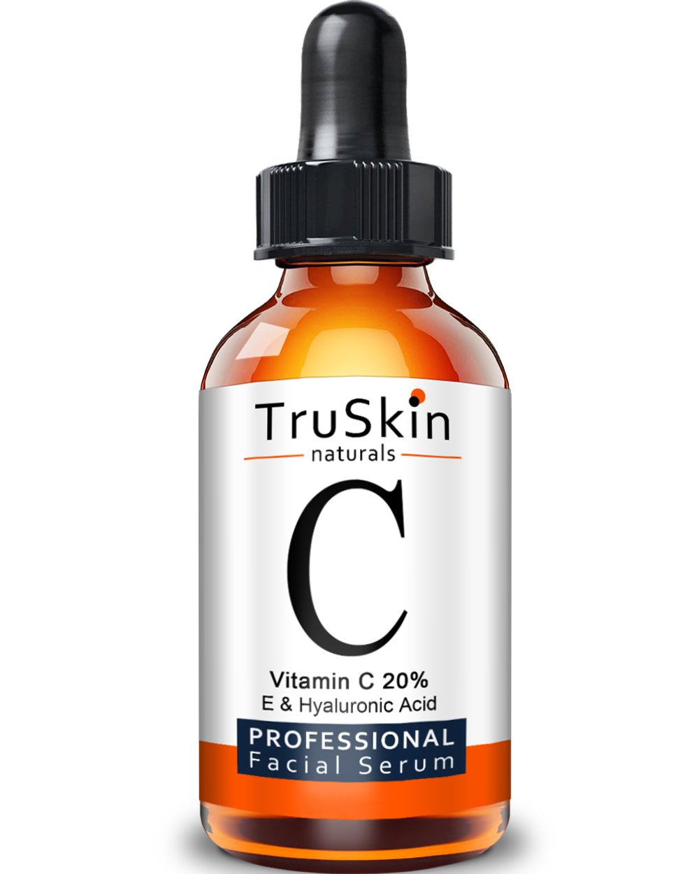 The BEST ORGANIC Vitamin C Serum for Face with Hyaluronic Acid | 20% C + Vitamin E | Professional Facial Skin Care Formula | Topical Vitamin C with Natural & Organic Anti Ageing Ingredients Shown to Boost Collagen, Plump Skin, Repair Sun Damage, Fade S