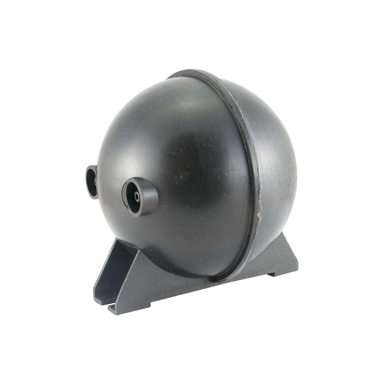 Unterdruck Speicher Behälter mit 110mm Ø für Auspuffklappe Klappen Auspuff Steuerung DL-Racing