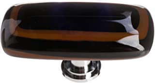 product image for Sietto LK-101-PC Stratum 2 Inch Long Rectangular Cabinet Knob