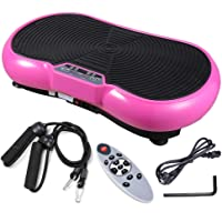 Yescom 3500W Vibration Plate Crazy Fit Massage Exercise Machine Oscillating Platform Pink