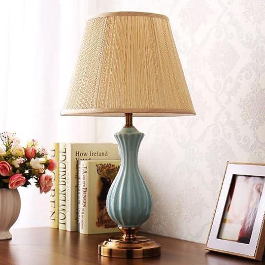 Yxx max *lampara Mesa Lámpara de cerámica Americana Lámpara de ...
