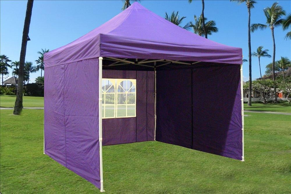 Amazon.com DELTA Canopies -10u0027x10u0027 Pop up 4 Wall Canopy Party Tent Gazebo EZ Purple - E Garden u0026 Outdoor & Amazon.com: DELTA Canopies -10u0027x10u0027 Pop up 4 Wall Canopy Party ...