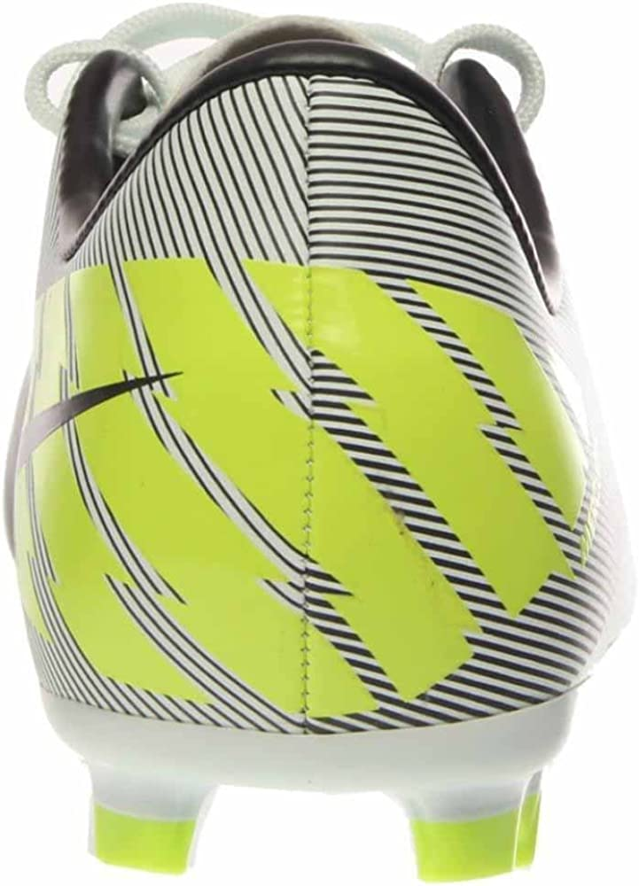 3.5Y Trace Blue//Volt Nike Jr Mercurial Victory II FG Soccer Cleats