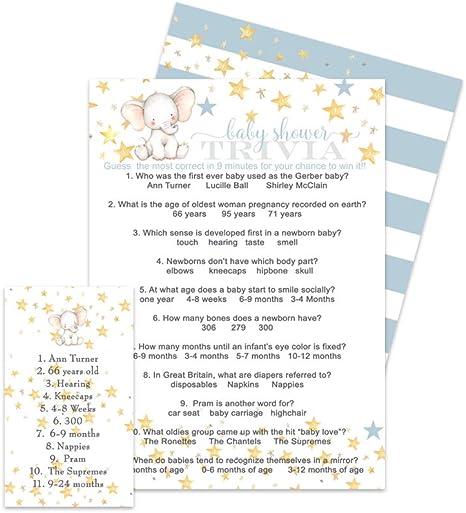 Paper Clever Party - Juego de Mesa para Baby Shower (25 Unidades ...