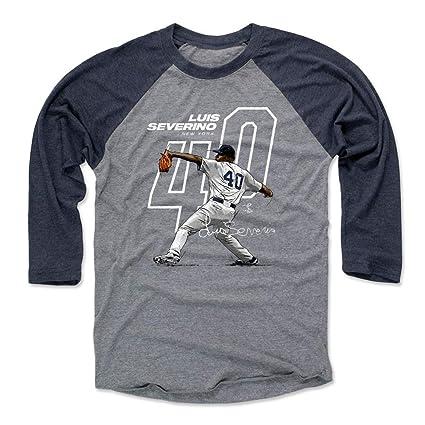 reputable site 8e1e4 0c231 Amazon.com : 500 LEVEL Luis Severino Shirt - New York ...